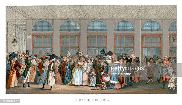 The Galerie de Bois Paris The first 'passage' in Paris the Galerie de Bois next to the PalaisRoyal opened in 1786 This was effectively the first...