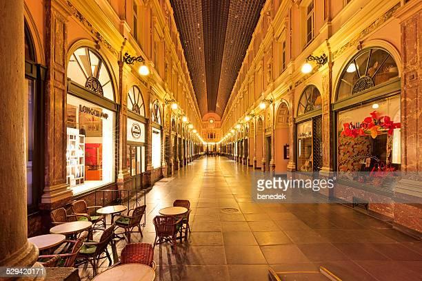 The Galeries Royales Saint-Hubert in  Brussels