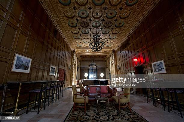 The Gallery Bar in the Millennium Biltmore the famous downtown Los Angeles hotel retains its ornate retro opulence This LA landmark was legend has it...