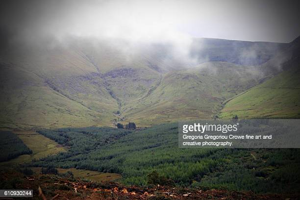the galtee mountains - gregoria gregoriou crowe fine art and creative photography. stock pictures, royalty-free photos & images