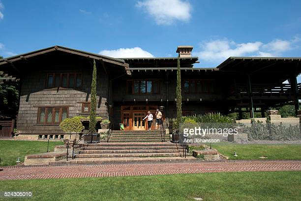 The Gamble House by architects Charles and Henry Greene is photographed in Pasadena June 4 2011