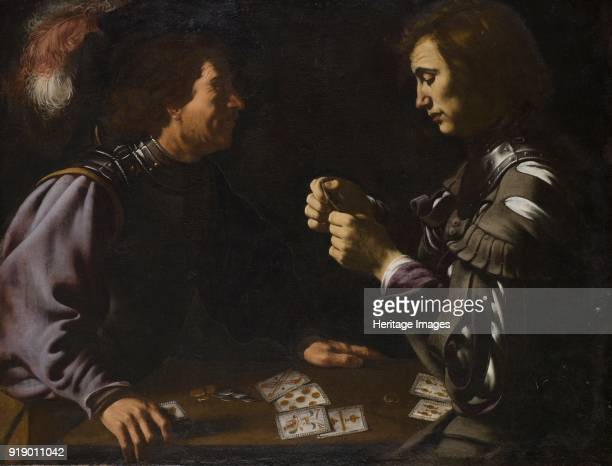 'The Gamblers' or 'Card Players painting by Antiveduto Grammatica in Apsley House London Grammatica was a follower of Caravaggio The painting was...