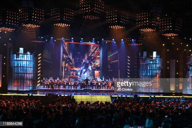 The Game Awards Orchestra perform onstage during The Game Awards 2019 at Microsoft Theater on December 12 2019 in Los Angeles California