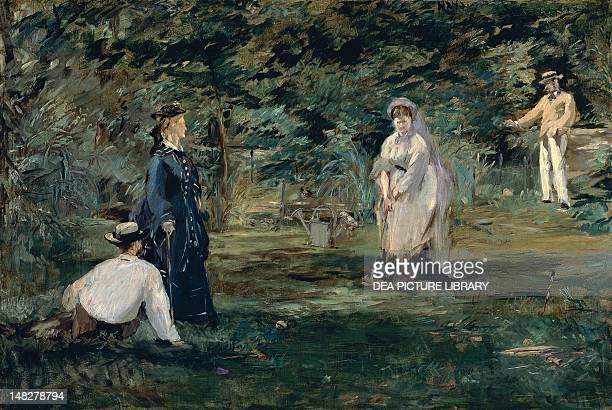 The game of croquet by Edouard Manet oil on canvas 72x106 cm Frankfurt Städelsches Kunstinstitut Und Städtische Galerie