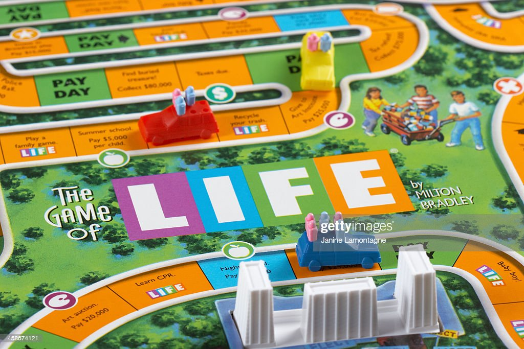 The Game of Life : Stock Photo