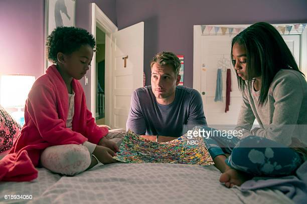 US The Game Plan Episode 105 Pictured Faithe Herman as Tess Justin Hartley as Kevin Eris Baker as Olivia