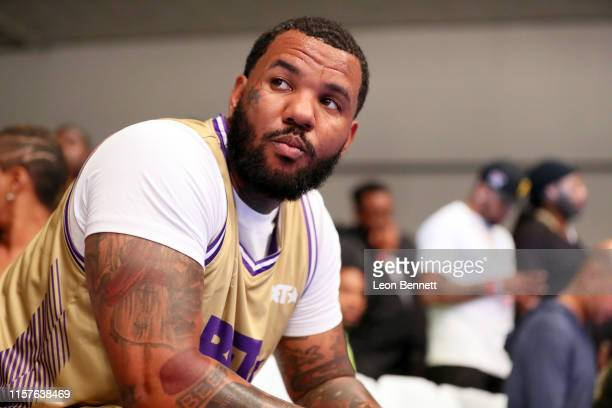 The Game plays in the BETX Celebrity Basketball Game Sponsored By Sprite during the BET Experience at Los Angeles Convention Center on June 22 2019...