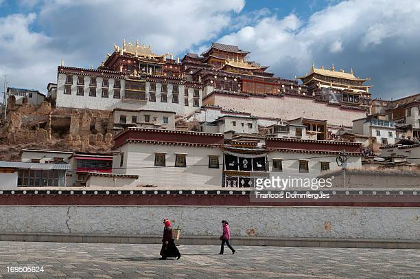 The Ganden Sumtseling Monastery, is a Tibetan Buddhist monastery situated 5 kilometres from the city of Zhongdian at elevation 3,380 metres in the...