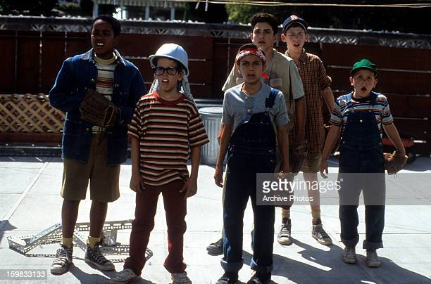 The gang of kids in a scene from the film 'The Sandlot' 1993