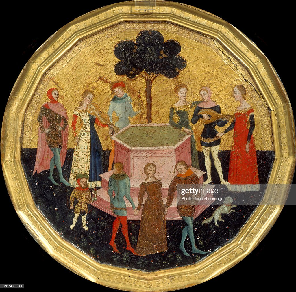 The Garden of Love attributed to Andrea da Firenze Pictures   Getty ...