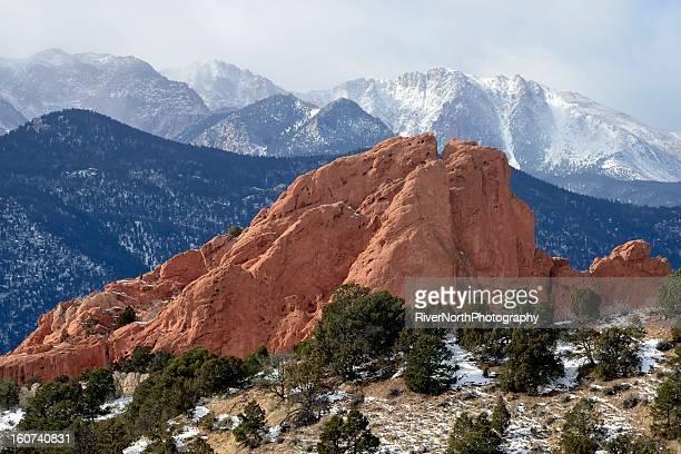 The Garden of the Gods in Colorado Springs.