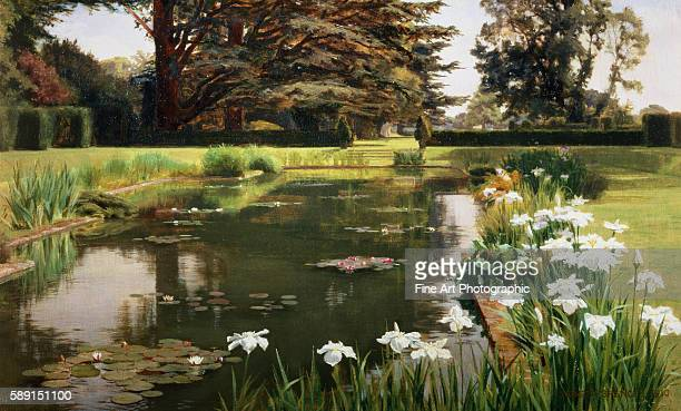 The Garden Sutton Place Surrey England by Ernest Spence