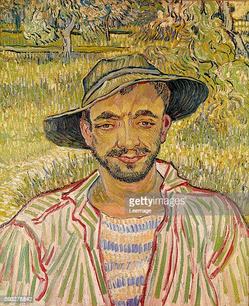 The Gardener or Young Peasant 1889 by Vincent Van Gogh 61x50 cm private collection