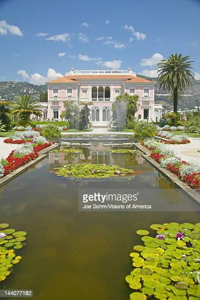 The Gardens and Villa Ephrussi de Rothschild SaintJeanCapFerrat France