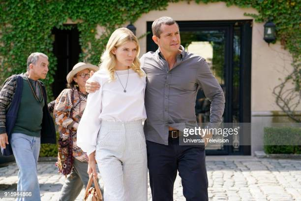 THE PATH The Gardens at Giverny Episode 307 Pictured Emma Greenwell as Mary Cox Hugh Dancy as Cal Roberts