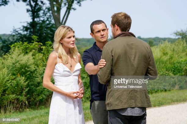 THE PATH The Gardens at Giverny Episode 307 Pictured Emma Greenwell as Mary Cox Hugh Dancy as Cal Roberts Roby Schinasi as Jean Paul