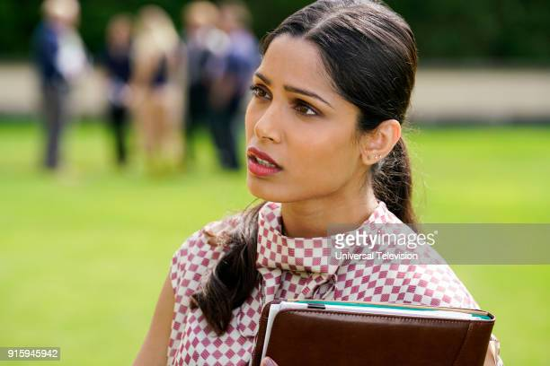 THE PATH 'The Gardens at Giverny' Episode 307 Pictured Freida Pinto as Vera