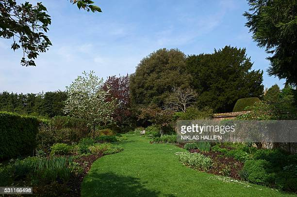 The gardens of Highclere Castle are picured at the castle in Highclere southern England on May 12 2016 As Britain mulls questions of identity and its...