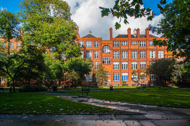 The Gardens of the University of Birmingham Campus, UK