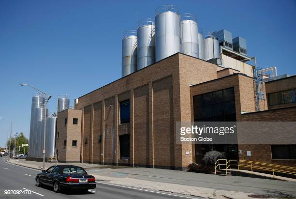 The Garelick Farms manufacturing plant in Lynn MA is pictured on May 23 2018 The plant will close in the fall Dean Foods the parent company of...