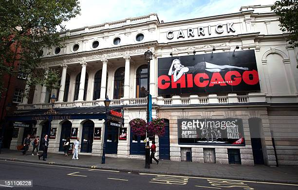 The Garrick Theatre in London's West End hosts the musical show 'Chicago' for the last time on September 1, 2012. The musical has run for 15 years in...