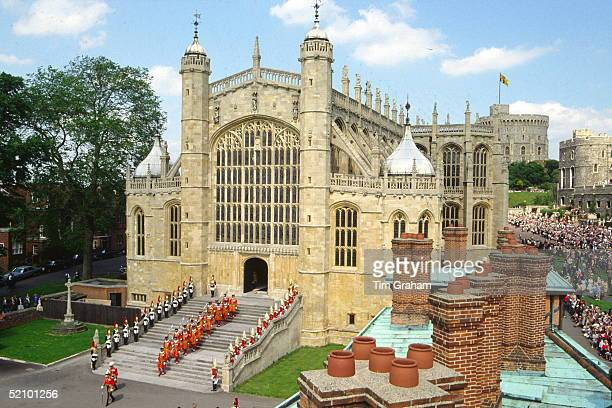 The Garter Ceremony At Saint George's Chapel Windsor Castlecirca 1990s