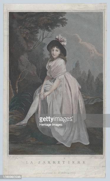 The Garter, circa 1810. Artist Salvatore Tresca.