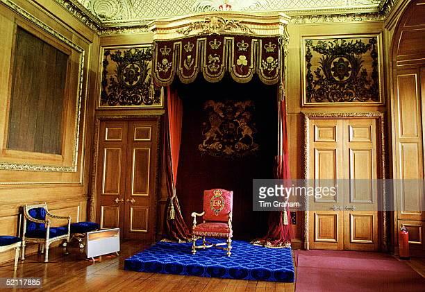 The Garter Throne Room, Windsor Castle.