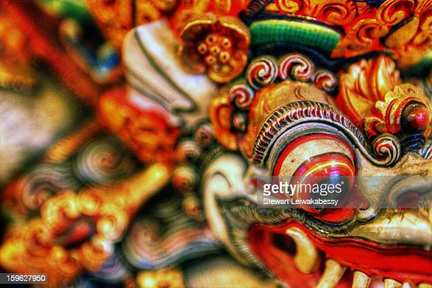 CONTENT] The Garuda is a large mythical bird or birdlike creature that appears in both Hindu and Buddhist mythology Hand carved and painted in...