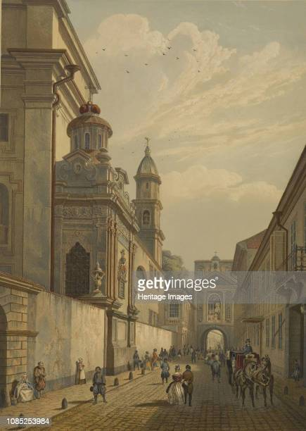 The Gate of Dawn in Vilnius, 1847. Private Collection.