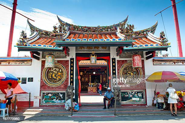 The gate of temple in china town, Malacca, Malaysia