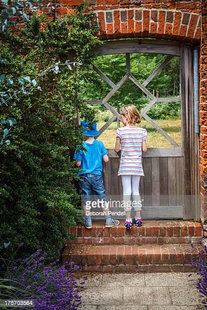 The gate to a secret garden