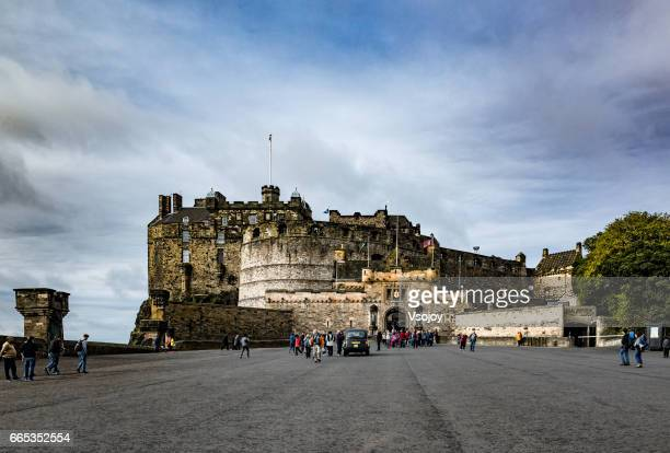 The Gatehouse view from the Esplanade, Edinburgh Castle, Edinburgh, Scotland, UK