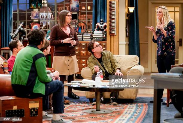 'The Gates Excitation' Pictured Amy Farrah Fowler Leonard Hofstadter and Penny Penny gets the opportunity to host Bill Gates at work when his company...