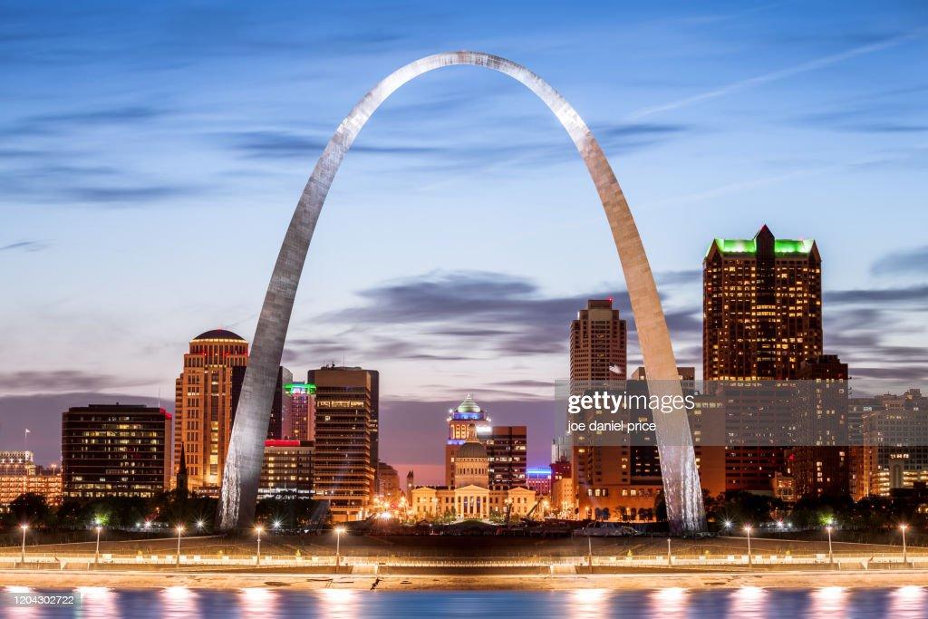The Gateway Arch, St Louis, Missouri, America : ストックフォト