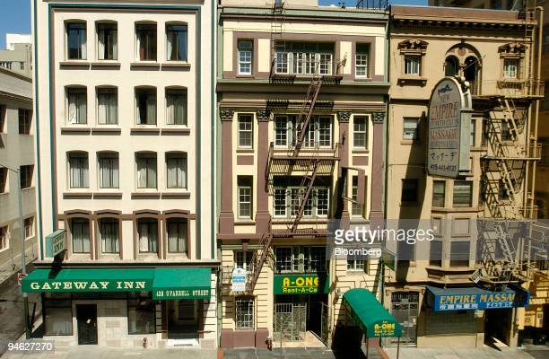 The Gateway Inn sits in the Tenderloin neighborhood of San Francisco California on Aug 29 2007 For an itinerant who has lived in a homeless shelter...