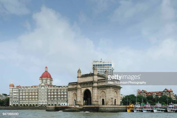 The gateway of India and Taj Mahal hotel in Mumbai