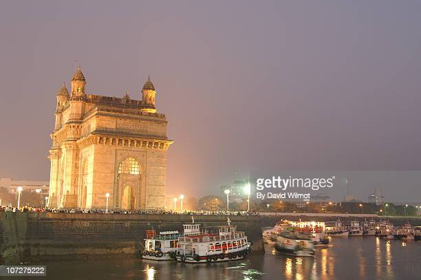 The Gateway of India at Night