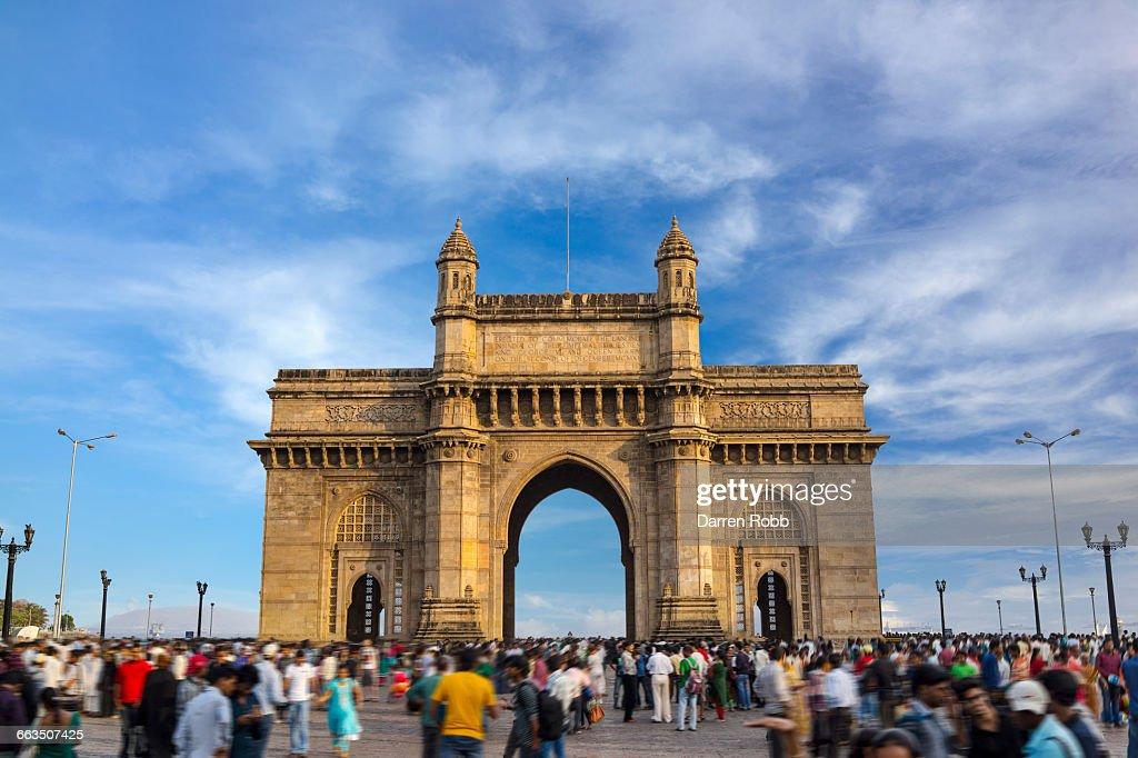 The Gateway of India, Mumbai, India : ストックフォト
