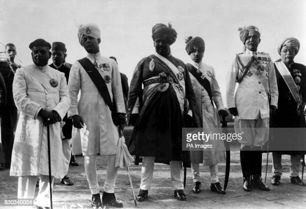 The Gawkwad of Baroda the Nawab of Bhopal the Maharajah of Kolhapur the Maharajah of Jodhpur the Maharajah of Bikaner and the Maharao of Cutch The...