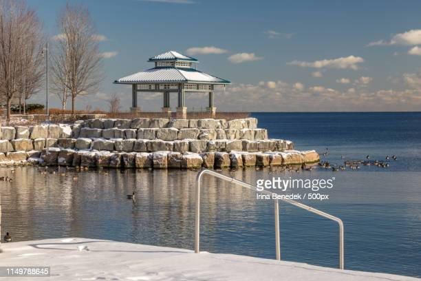 the gazebo - mississauga stock pictures, royalty-free photos & images
