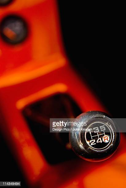 The Gear Stick In A Vehicle
