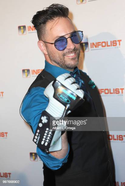 The Geek Gatsby Bernie Bregman arrives for the INFOLISTcom's Annual PreComicCon Party held at OHM Nightclub on July 12 2018 in Hollywood California