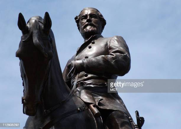 The Gen Robert E Lee Monument is located on Monument Avenue in Richmond Virginia The large equestrian statue which depicts the Confederate commander...