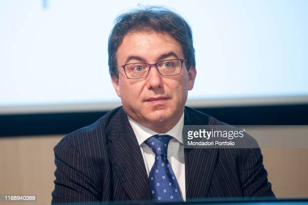 The general director of Assolombarda Michele Verna attending the debate Milano motore dellíItalia during the event Panorama d'Italia Milan Italy 17th...