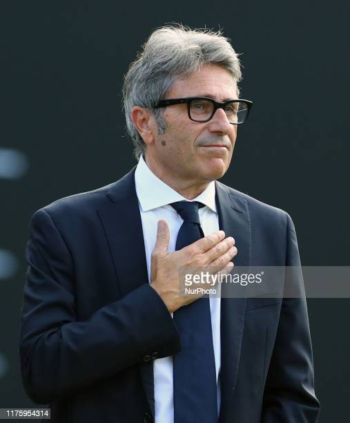 The General Director of the Ryder Cup 2022 Gian Paolo Montali during the ward ceremony of the Golf Italian Open in Rome, Italy on October 13, 2019