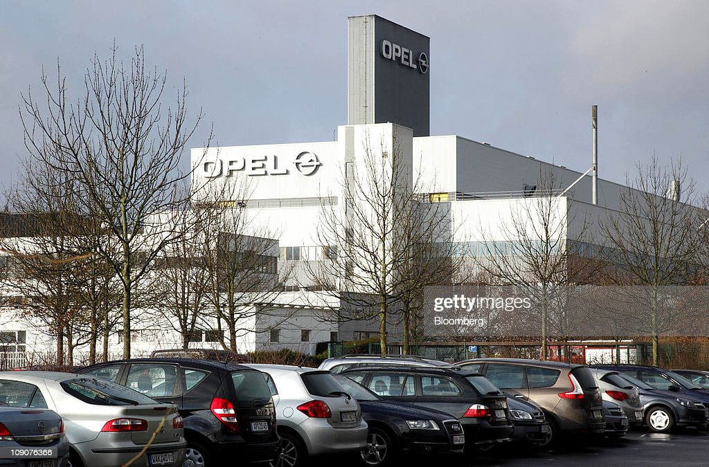 The General Motor Co.'s Adam Opel plant is seen in Eisenach, Germany, on Friday, Feb.11, 2011. General Motors Co.'s Opel unit may break even this year, excluding restructuring costs, said Nick Reilly, GM's European chief. Photographer: Jochen Eckel/Bloomberg via Getty Images