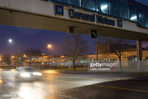 The General Motors Assembly office is viewed in Oshawa Ontario on November 26 2018 General Motors is to announce on Monday the closure of a factory...