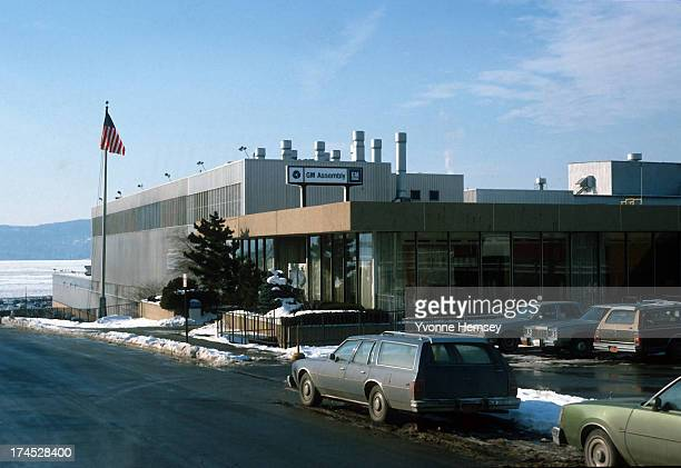 The General Motors Assembly plant in Tarrytown New York is photographed January 12 1982