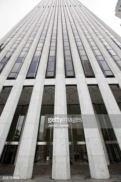 Usa Business General Motors Building In New York City